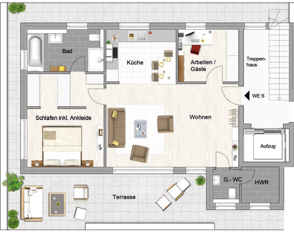 aktuelle projekte idee projektentwicklungs und investitionsgesellschaft mbh. Black Bedroom Furniture Sets. Home Design Ideas